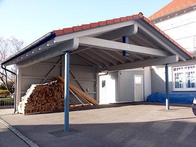 Carport, Pergola & Gartenhaus